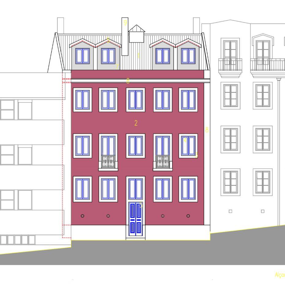 Residential building - Graça, Lisboa