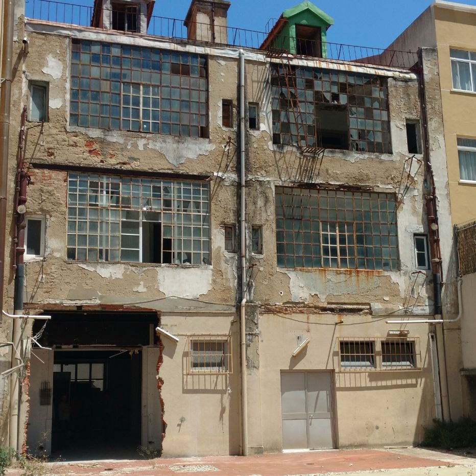 Building renovation - Rua de Entrecampos