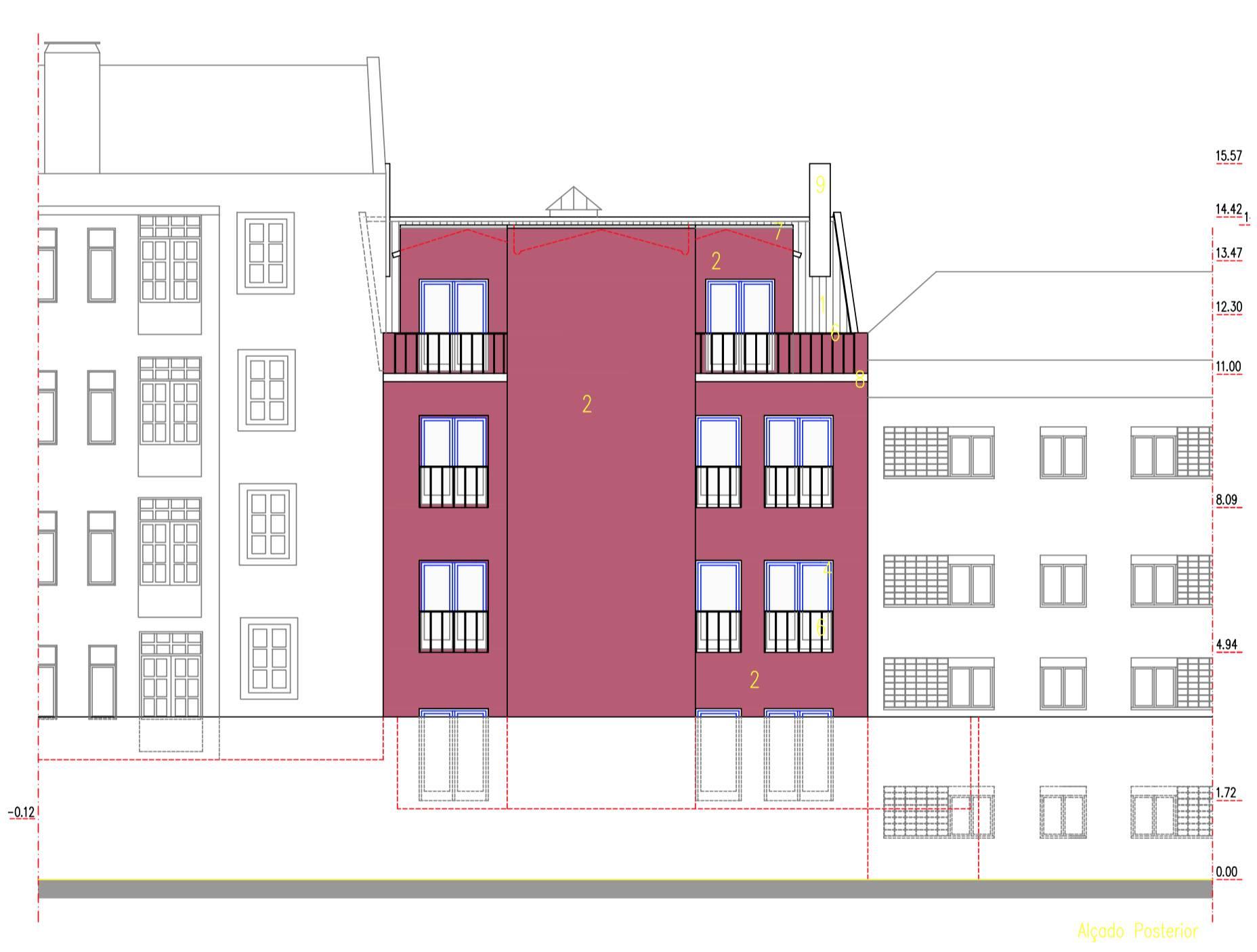 Remodelação de edifício de habitação - Graça
