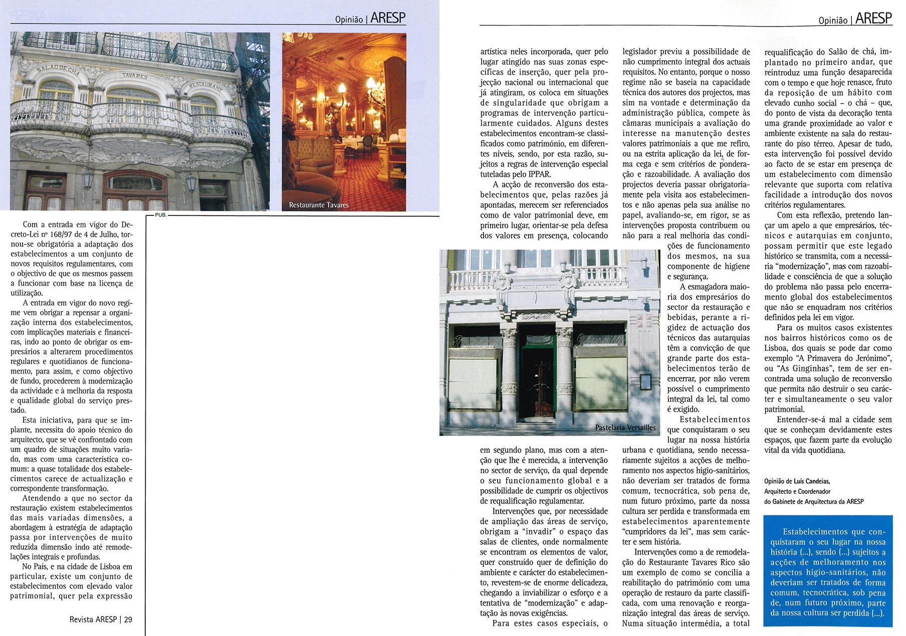 ARESP Magazine | Opinion Luís Candeias | pp. 28 - 30